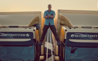 Jean-Claude van Damme Volvo Split