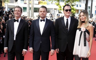 "Quentin Tarantino's Debuts ""Once Upon A Time in Hollywood"" at Cannes"